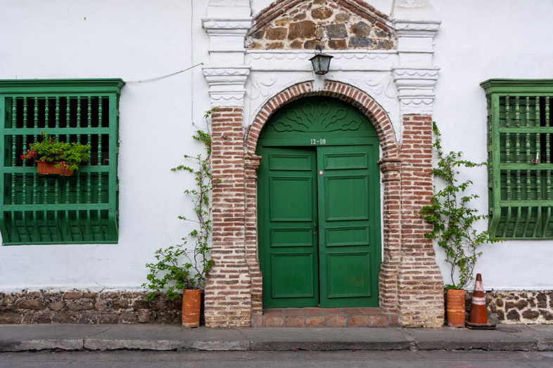 santa fe de antioquia rue village colonial