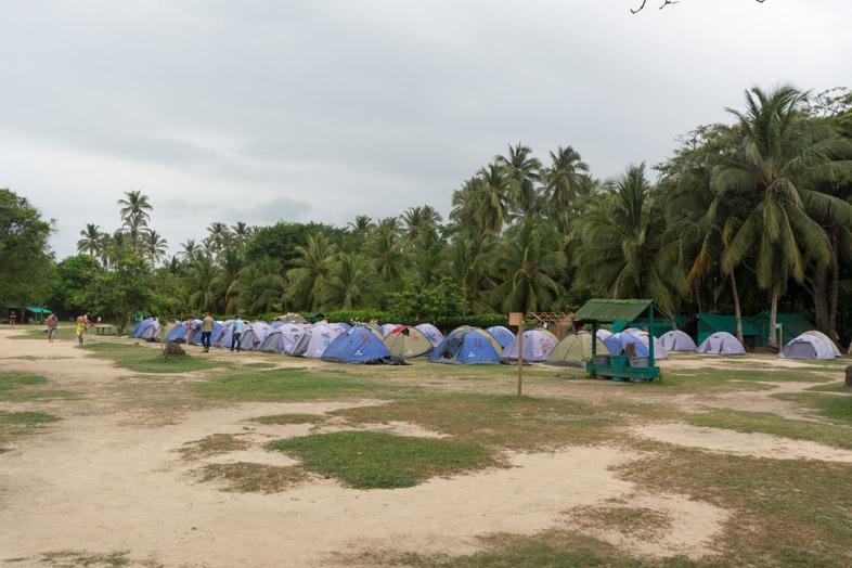camping gringos cabo san juan del guia parc tayrona colombie