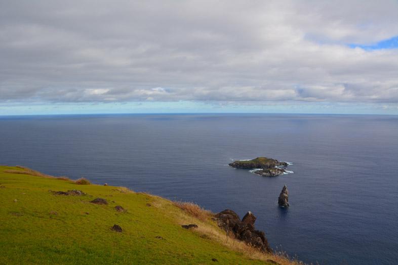 îles Motu Iti, Motu Nui Et Motu Kao Kao Vues Depuis L'île De Pâques