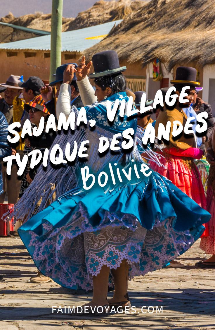 Cholitas à Sajama En Bolivie