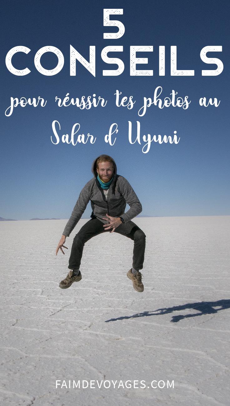 5 Conseils Pour Réussir Sa Photo Sur Le Salar D'uyuni