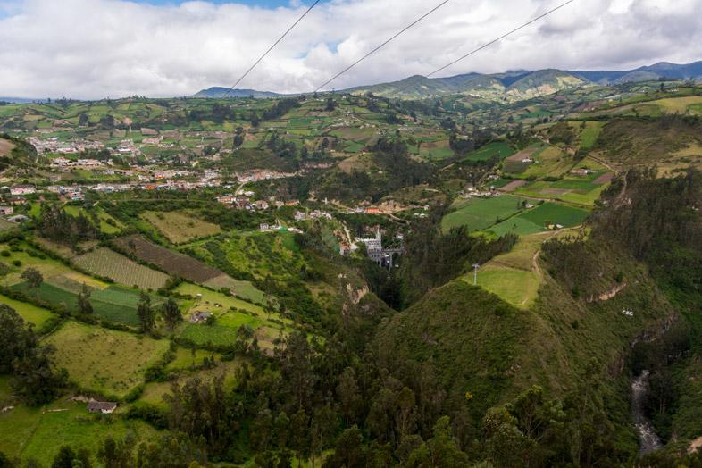 Environnement Verdoyant Autour Du Sanctuaire De Las Lajas