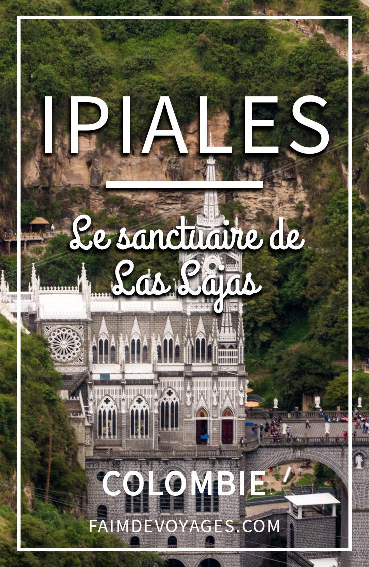 L'église Du Sanctuaire De Las Lajas Sur Un Pont En Colombie