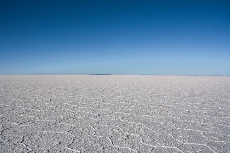 Le Salar De Uyuni Pendant La Saison Sèche