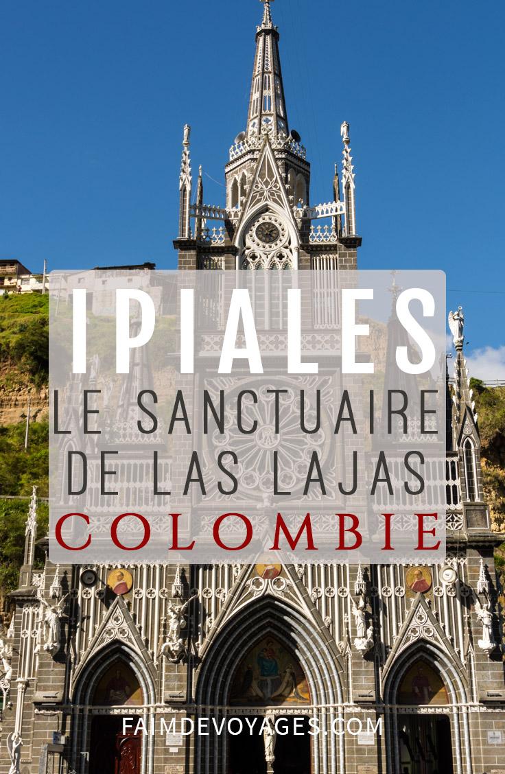 Le Sanctuaire De Las Lajas Se Trouve à Ipiales En Colombie