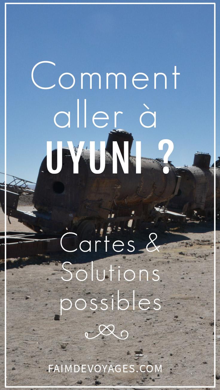 Aniciens Trains Pour Aller à Uyuni
