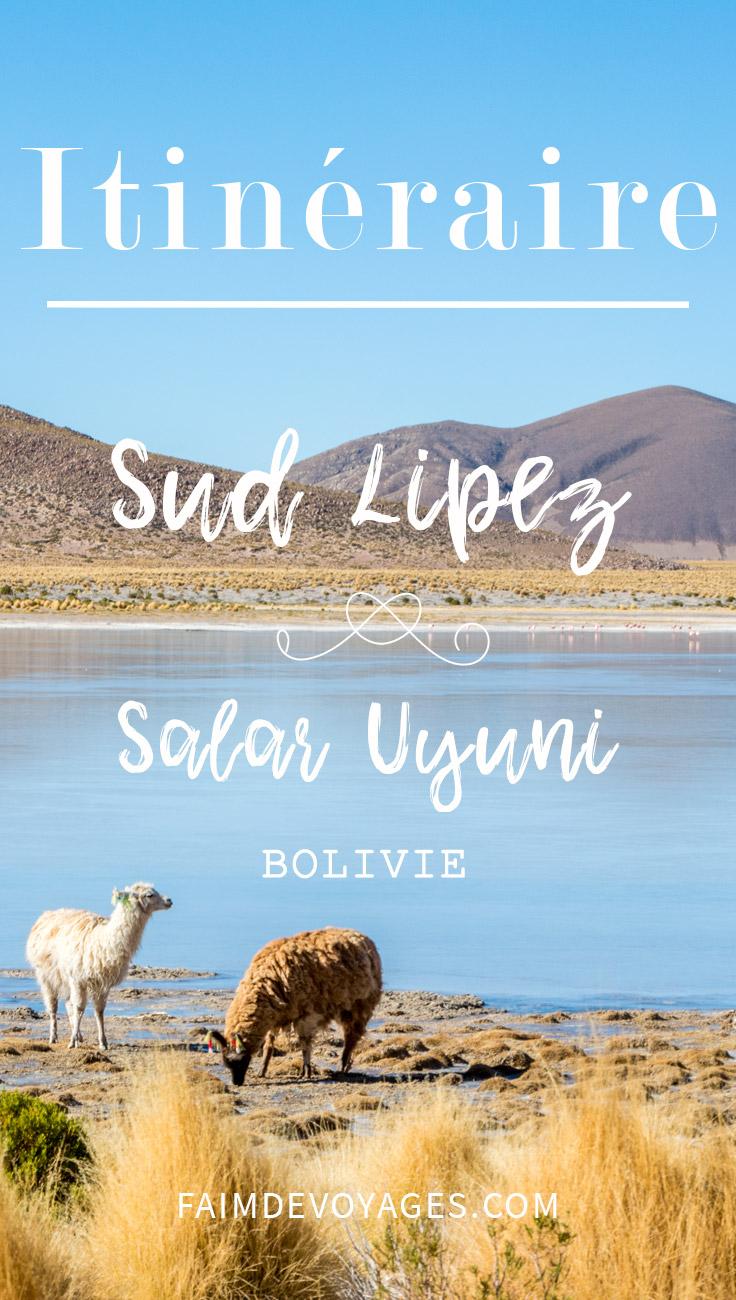 Itinéraire Sud Lipez Et Uyuni En Bolivie