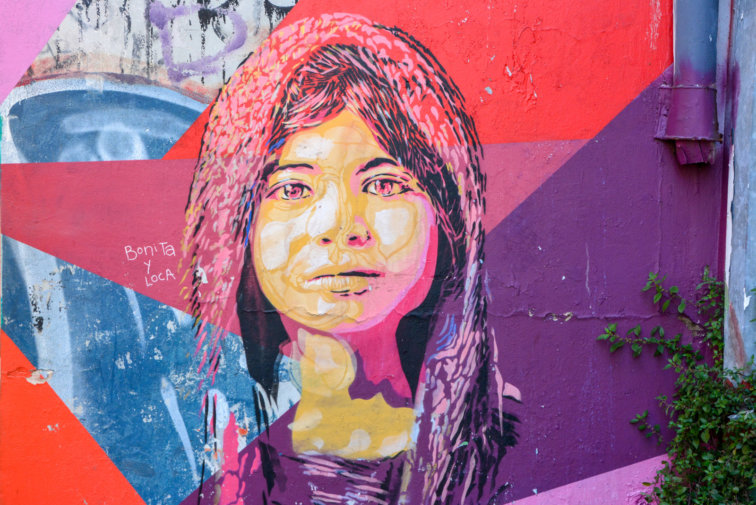 Postshow Street Art Dans Les Rues De Valparaiso