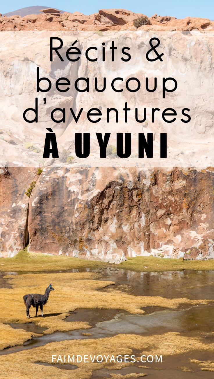 Récits Et Beaucoup D'aventures à Uyuni