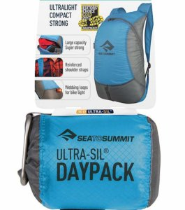 Sac à Dos Sea To Summit Daypack 20l bleu Ultra Compacte