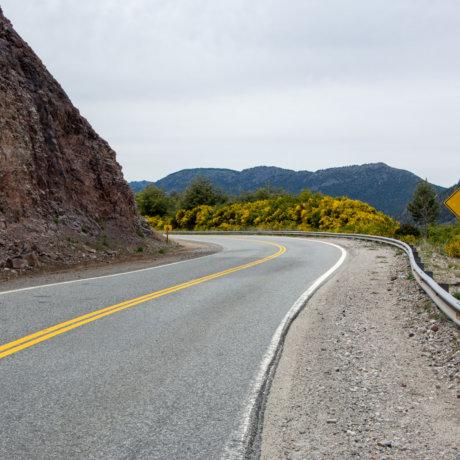 Autostop Sur La Route De Bariloche A Villa La Angostura En Argentine