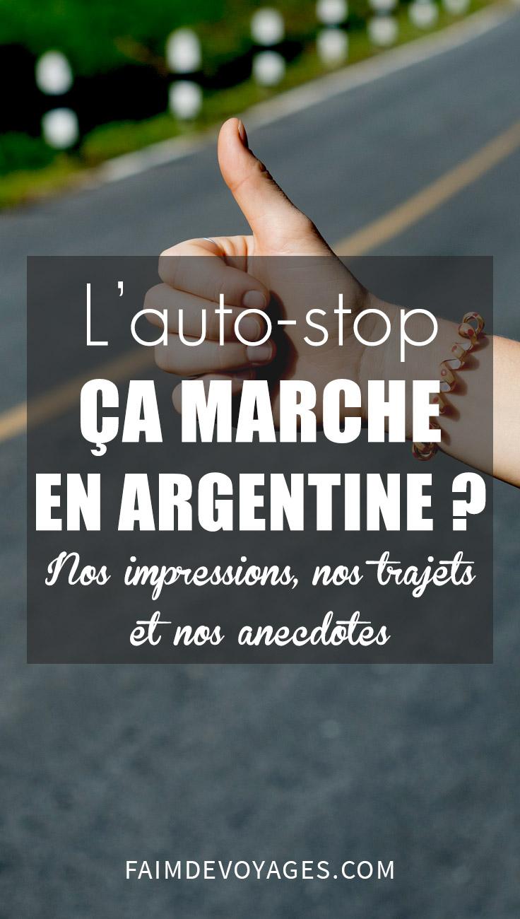 Nous Avons Fait De L'auto Stop Sur Les Routes Argentines