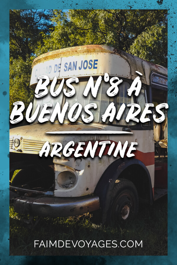 Bus Numéro 8 à Buenos Aires En Argentine