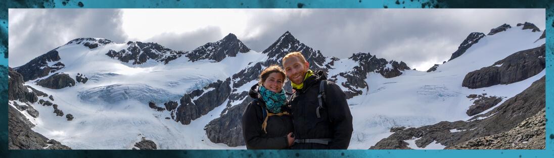 Cécilia Et Timothée à La Lagune Vinciguerra à Ushuaia En Argentine 2019