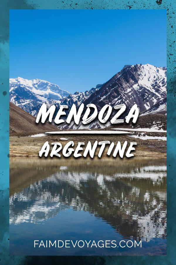 Montagne Aconcagua Près De Mendoza En Argentine