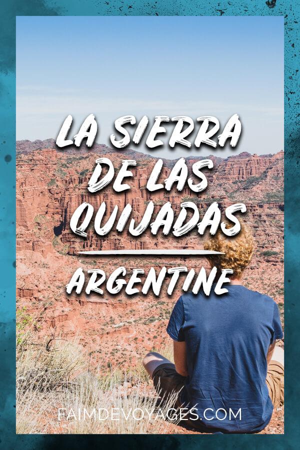 Tim Contemple Le Parc National De La Sierra De Las Quijadas En Argentine