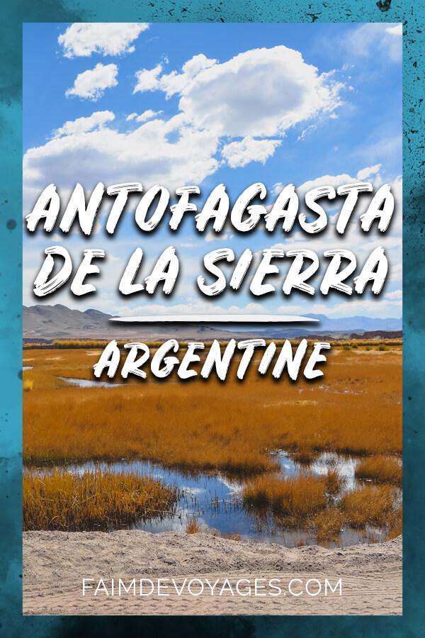 Antofagasta De La Sierra En Argentine