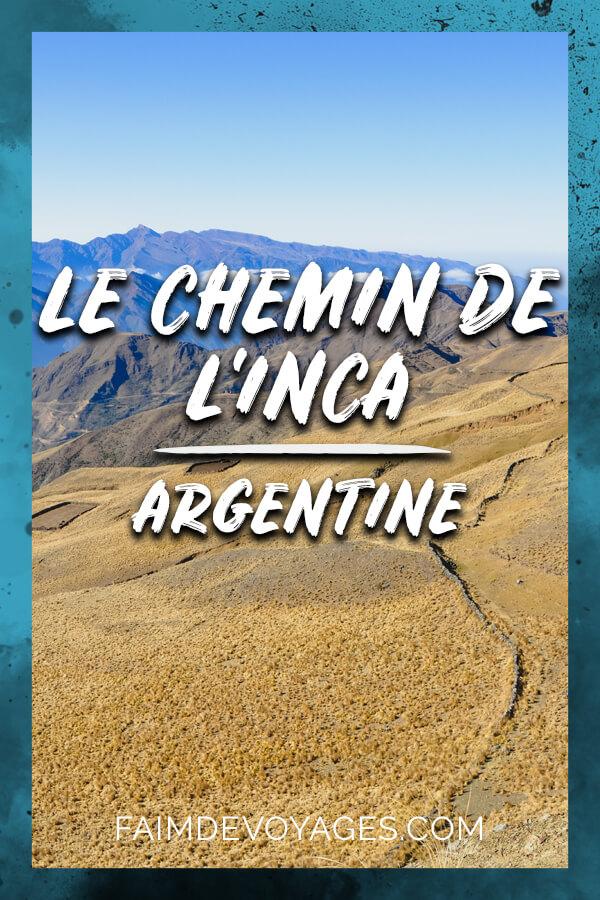 Chemin De L'inca En Argentine Vue Sur Les Montagnes