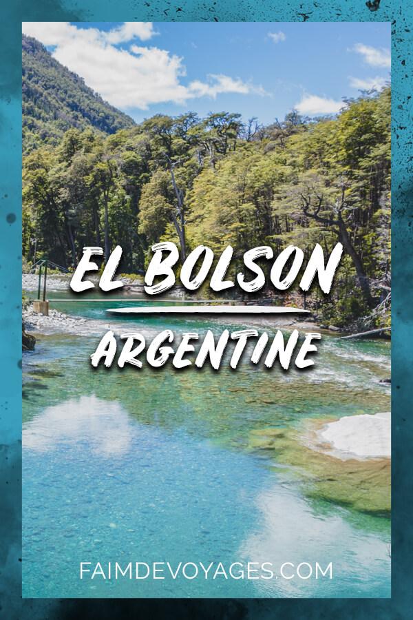 El Cajon Del Azul à El Bolson En Argentine
