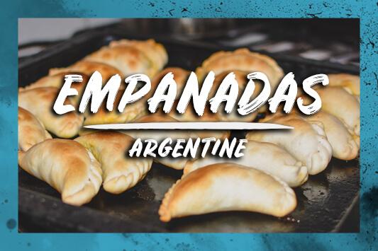 Empanadas Argentins à La Viande Cuits Au Four La Vraie Recette De Salta