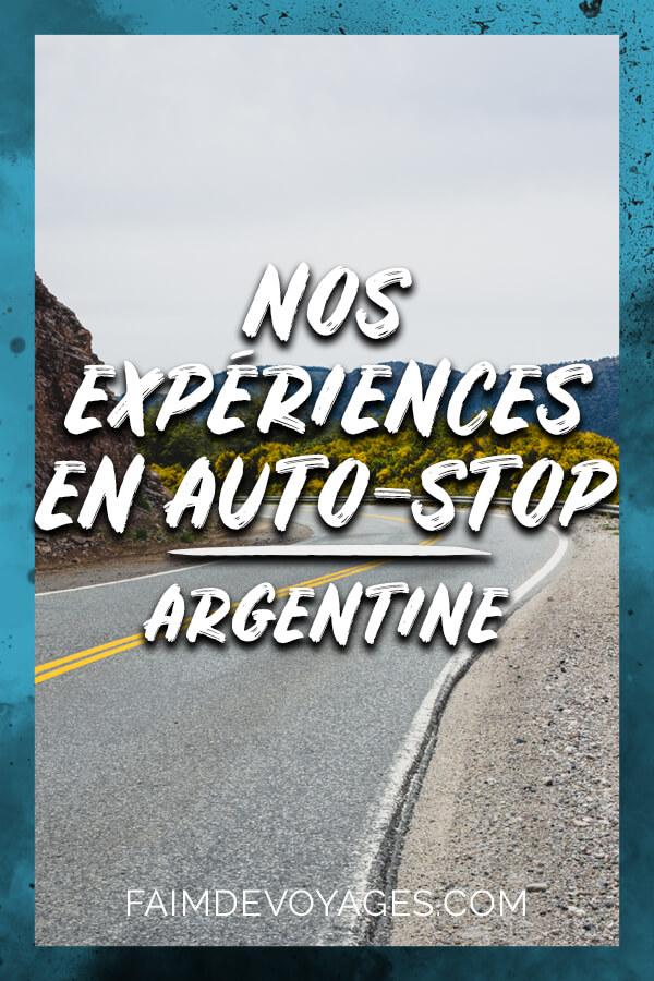 Nos Expériences En Auto Stop En Argentine