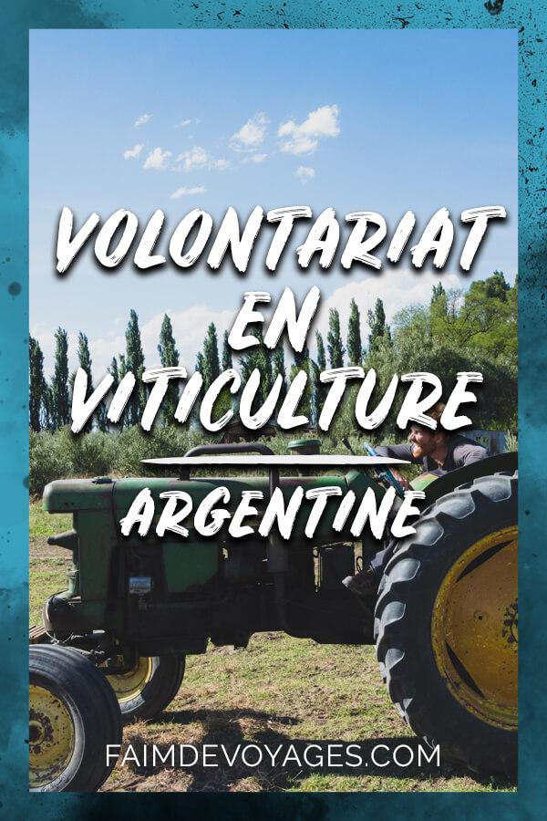 Timothée Volontaire Dans Un Vignoble Biologique En Argentine Près De Mendoza