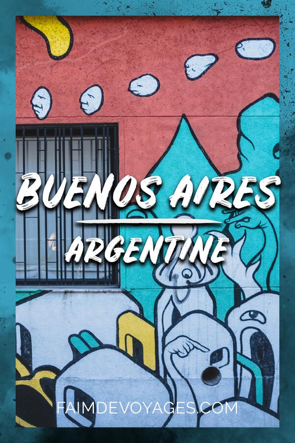 Visiter Le Street Art Dans Le Quartier De Palermo à Buenos Aires En Argentine