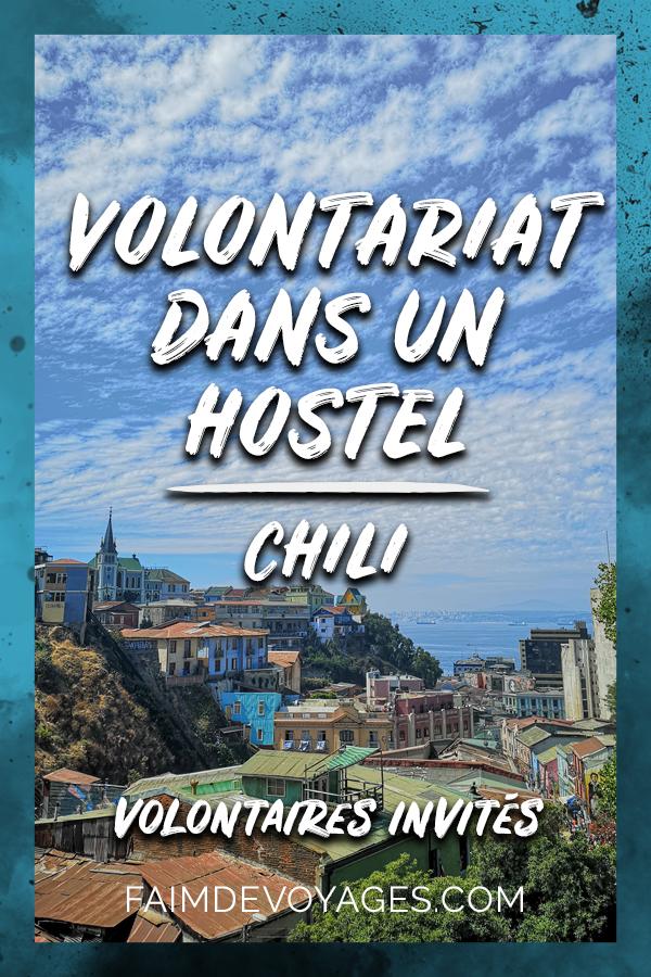 Vue Panoramique De Valparaiso Pendant Le Volontariat De Julie Et Pierre Au Chili