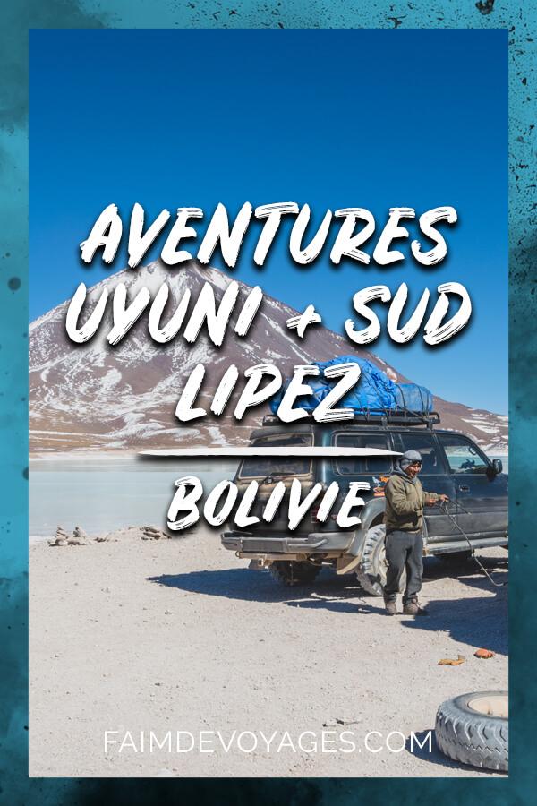 Aventures dans le Salar d'Uyuni Et Le Sud Lipez en Bolivie