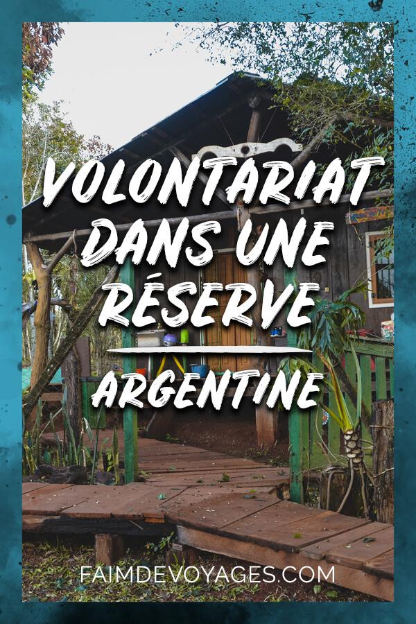 Cabane De Notre Volontariat Dans Une Réservelle Naturelle Dans La Jungle En Argentine