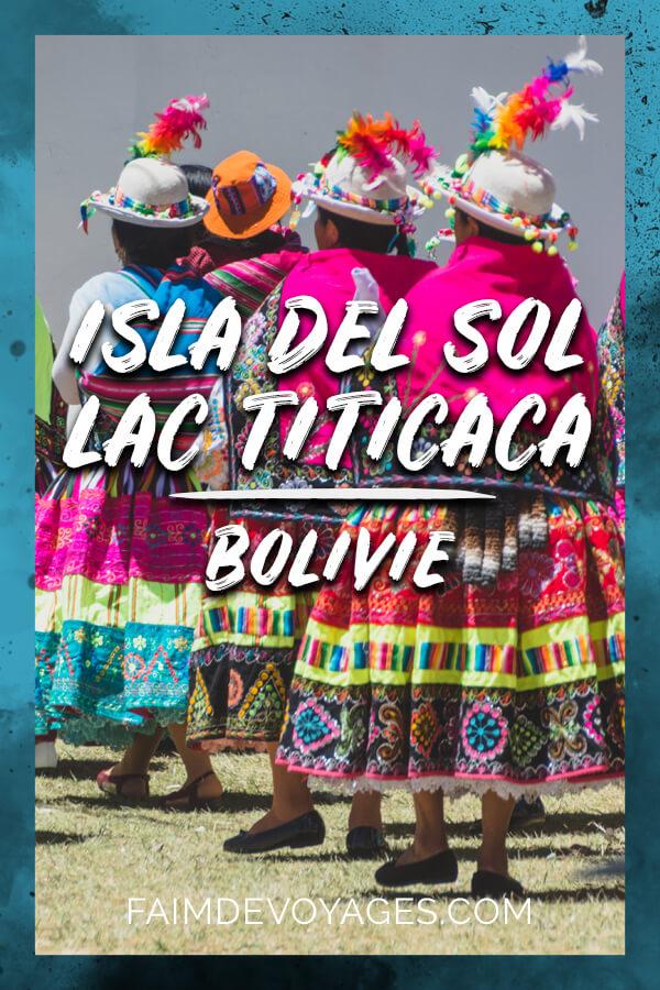 Isla Del Sol Sur Le Lac Titicaca En Bolivie