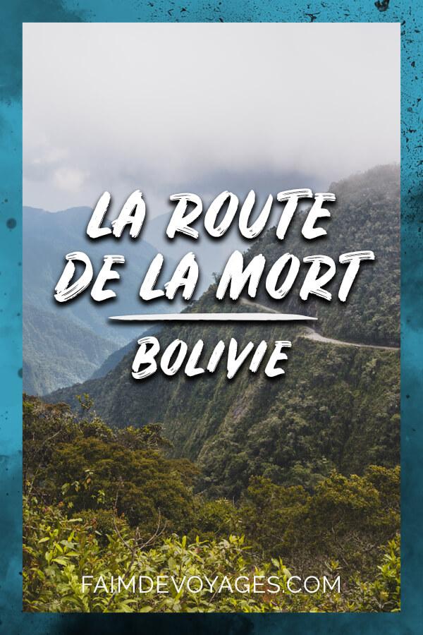 Descente de la Route De La Mort à vélo en Bolivie