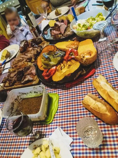 Un Repas Argentin Familial