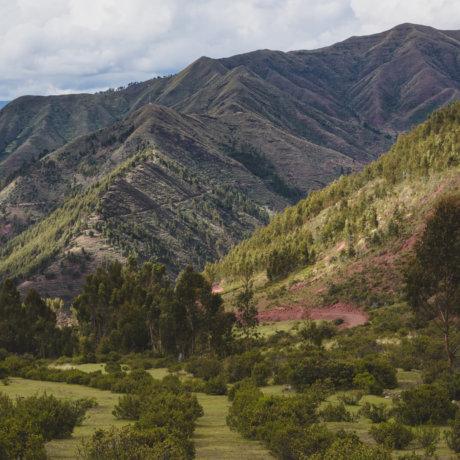 Montagnes de la Cordillère des Andes autour d'un volontariat au Pérou - El Champal