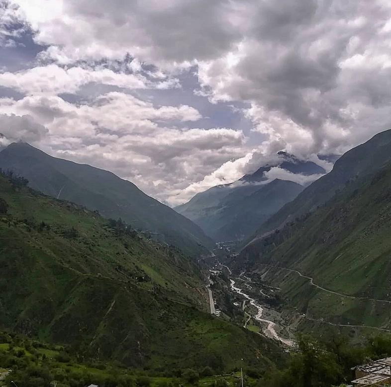 Vue Des Montagnes Pendant Le Volontariat De Margaux A El Champal