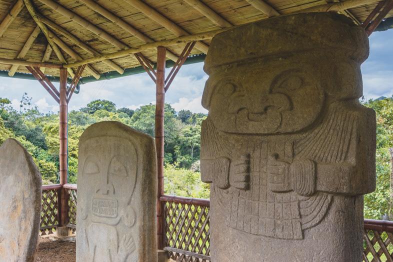 El Tablon Près De San Agustin En Colombie