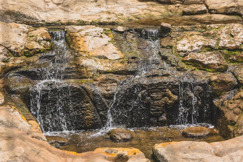 Fuente De Lavapatas Dans Le Parc Archeologique De San Agustin En Colombie