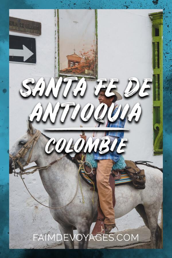 Visite de Santa Fe De Antioquia En Colombie