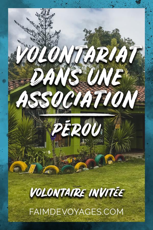 Volontariat Au Pérou Dans Une Association à L'aide De La Population à Andahuaylas