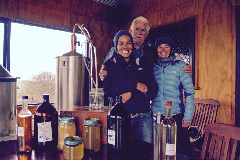 Distillerie Maison Dans Un Volontariat En Nouvelle Zelande Reveetsacados