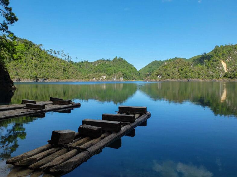Lagos De Montebello Au Mexique Dans Le Chiapas