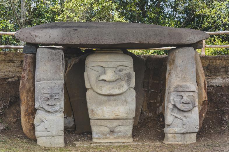 Mesita A Dans Le Parc Archeologique De San Agustin