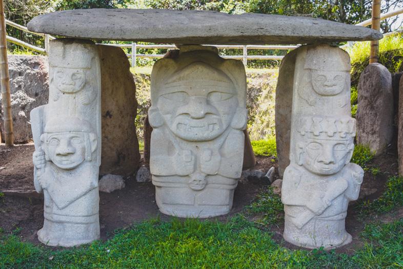 Mesita B Dans Le Parc Archeologique De San Agustin