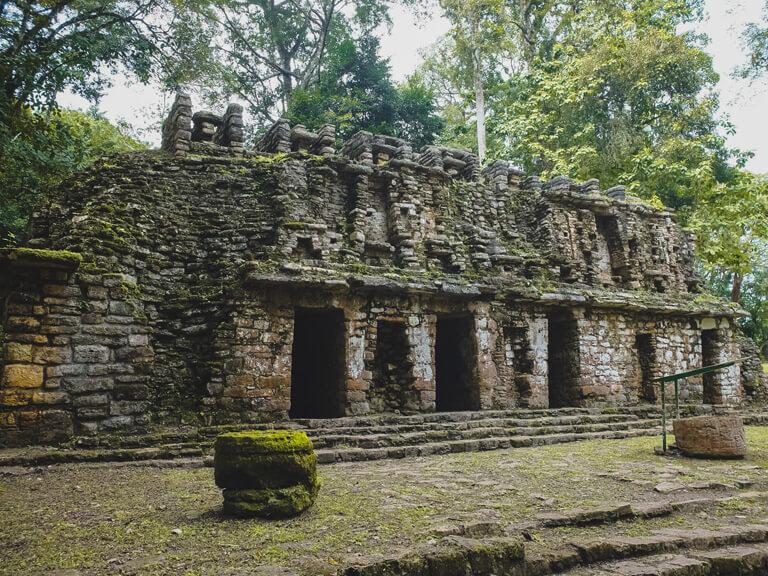 Ruine Maya Pres Du Volontariat Au Mexique