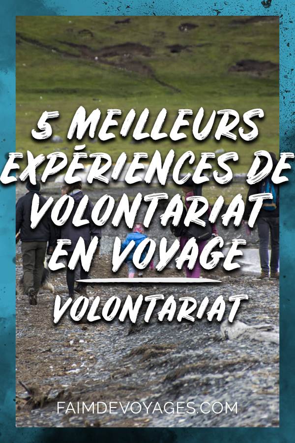 5 Meilleures Expériences De Volontariat Pendant Un Voyage