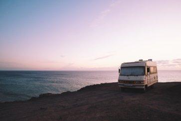 Camping Car Hymer En Vacances