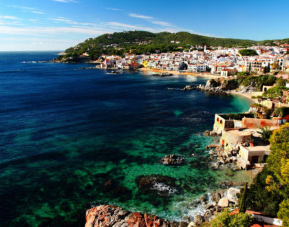 Photo De La Costa Brava En Espagne