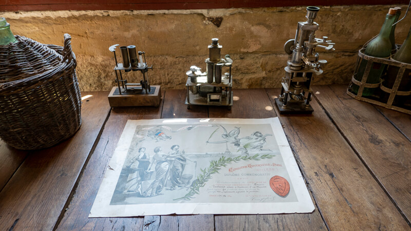 Colorimetre Pour Le Vin Au Chateau De Luc Famille Fabre
