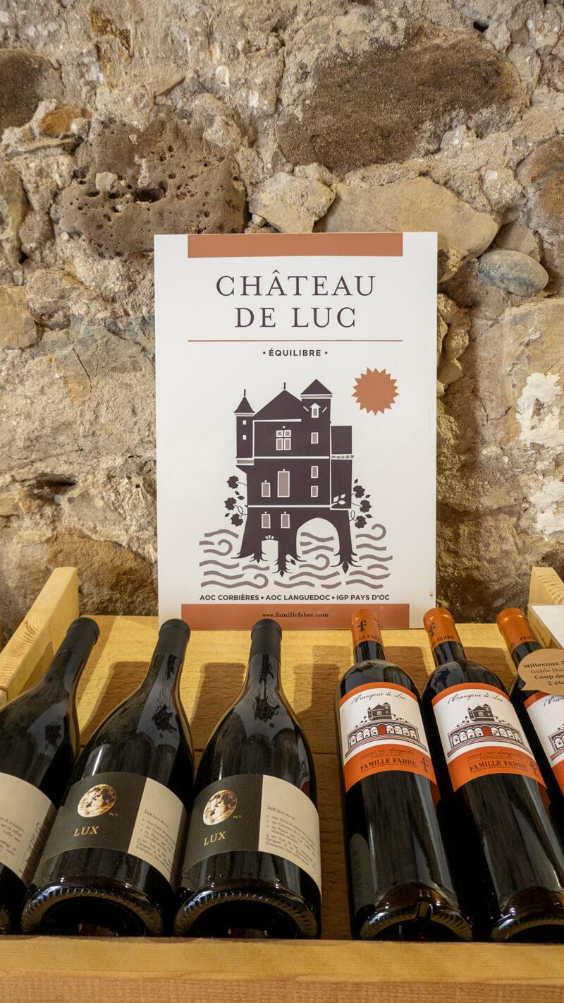 Boutique Du Chateau De Luc Famille Fabre
