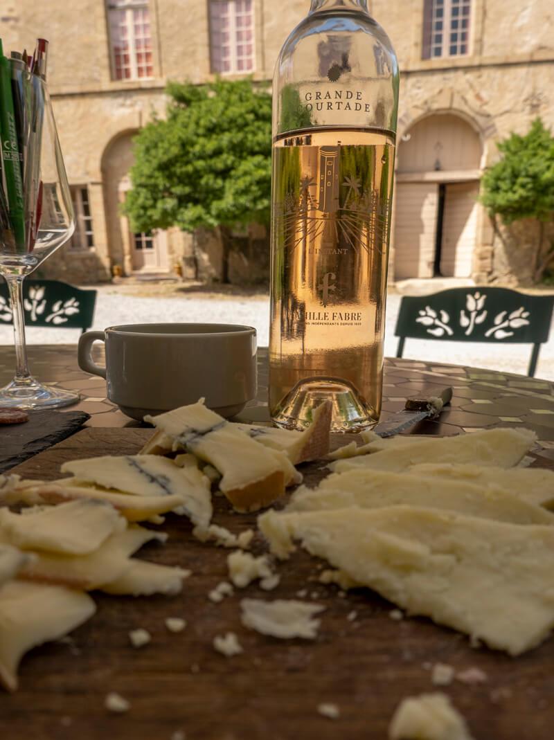 Degustation De Vin Au Chateau De Luc Famille Fabre